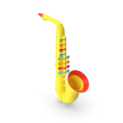 Plastic Colorful Toy Saxophone