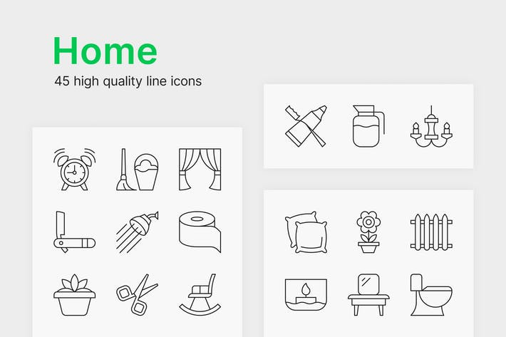 Cover Image For Home Icons