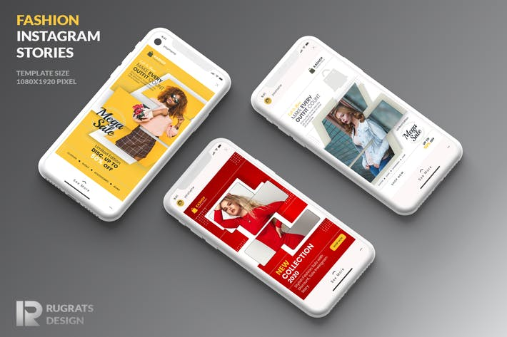Cover Image For Fashion R2 Instagram Story Template