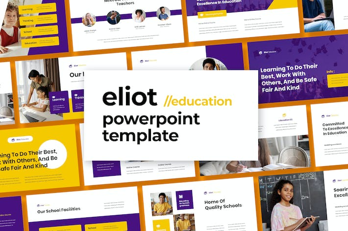 Thumbnail for Eliot - Education Template Powerpoint