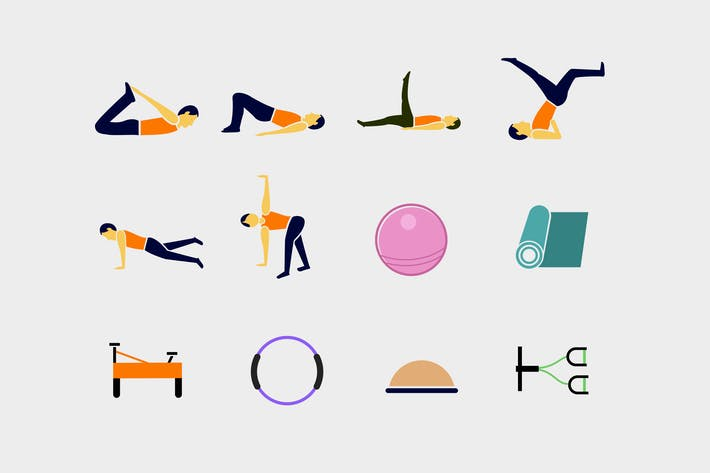 Thumbnail for 12 Pilates Icons