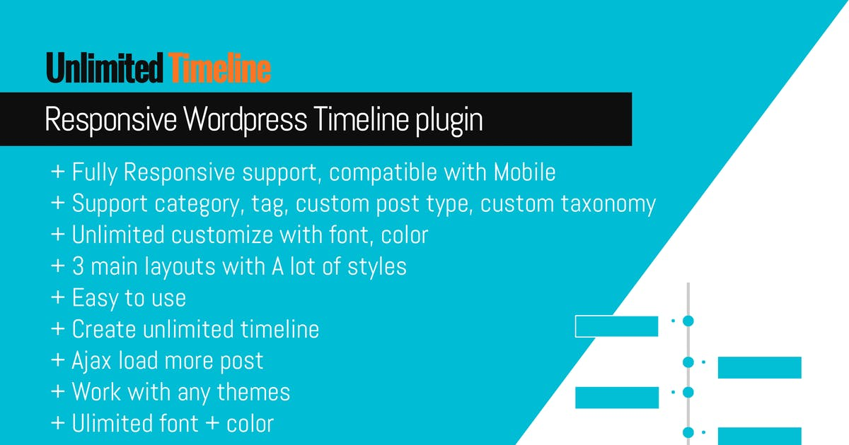 Download Timeline Responsive Wordpress plugin by Ex-Themes