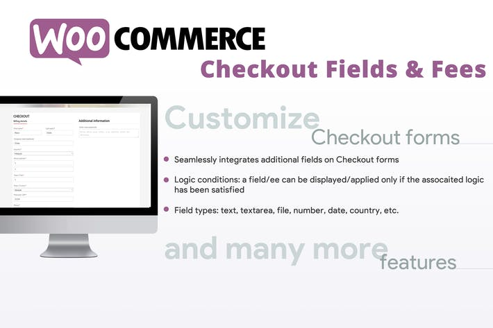 Thumbnail for WooCommerce Checkout Fields & Fees