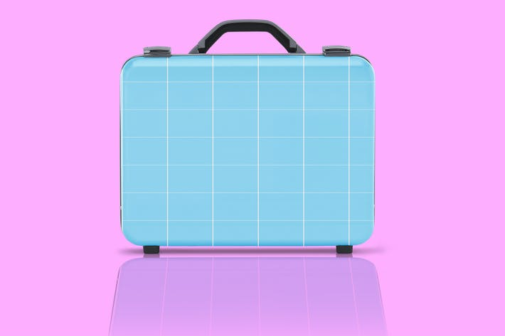 Thumbnail for Business suitcase Mockup