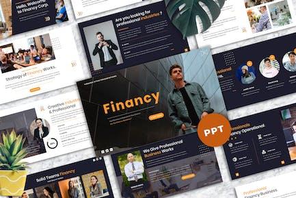 Financy - Creative PowerPoint Template