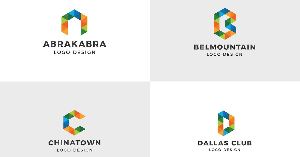 Download Alphabet Logo Template ( A, B, C, D ) by deemakdaksinas