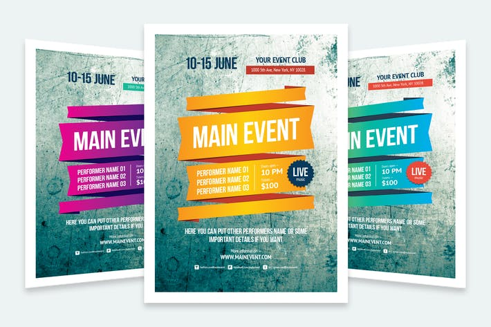 Cover Image For Multipurpose Poster Template #3