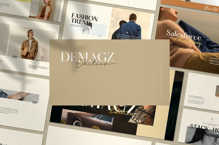 Thumbnail for Demagz - Business Marketing Keynote