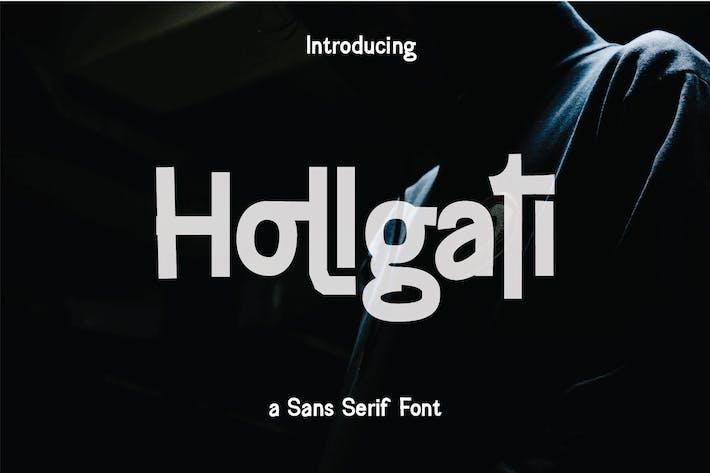 Thumbnail for Hollgati Font