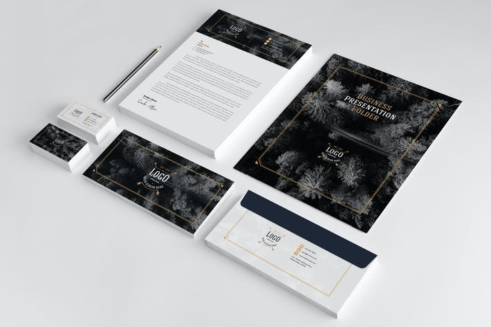 Thumbnail for Business Stationery Template 18