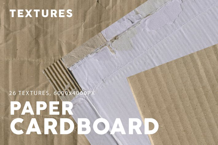 Thumbnail for 26 Cardboard Paper Textures