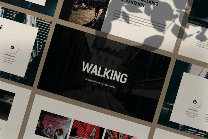 Thumbnail for Walking - Google Slide
