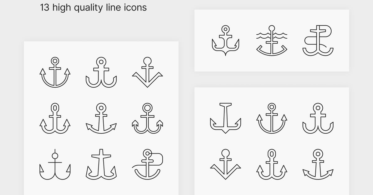 Download Anchor Icons by polshindanil