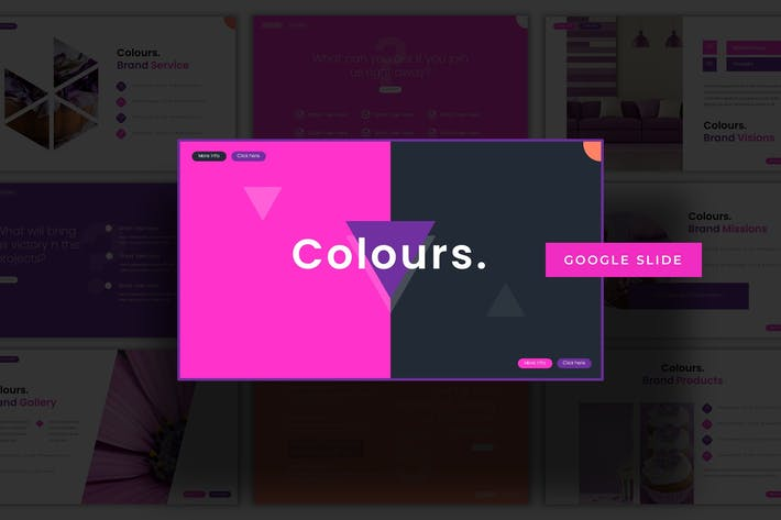 Thumbnail for Colours  - Keynote Template