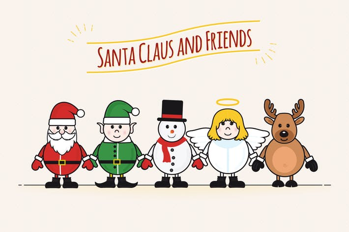 Thumbnail for Santa Claus and Friends