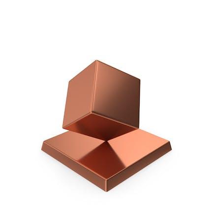Cube Trophy Bronze