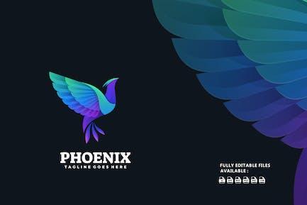 Phoenix Gradient Colorful Logo
