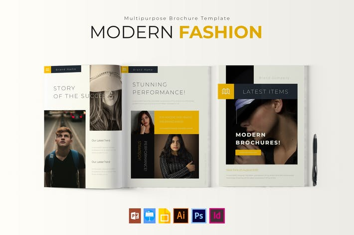 Cover Image For Modern Fashion | Brochure Template