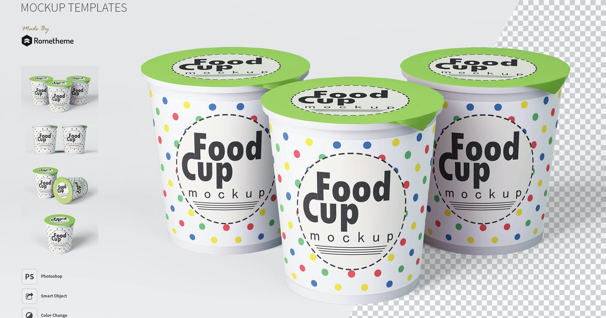 Download Food Cup - Mockup FH by Rometheme