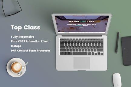 Top Class - Multipurpose HTML5 Responsive Template