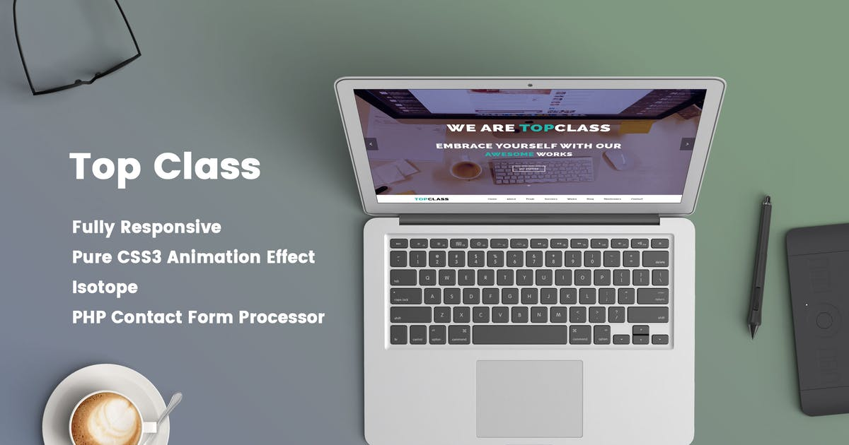 Download Top Class - Multipurpose HTML5 Responsive Template by Jewel_Theme