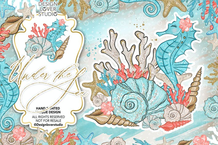 Thumbnail for Under the Sea design
