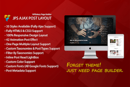 JPS Post Layout - Addon For WPBakery Page Builder