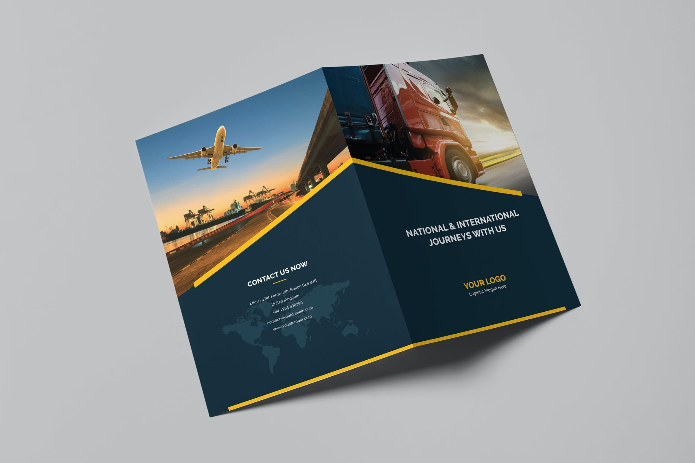 Brochure – Logistic Bi-Fold by artbart on Envato Elements