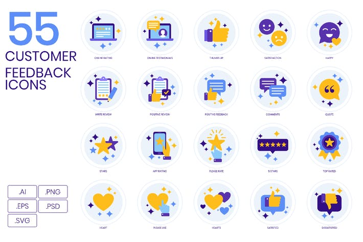 Thumbnail for Customer Feedback Icons