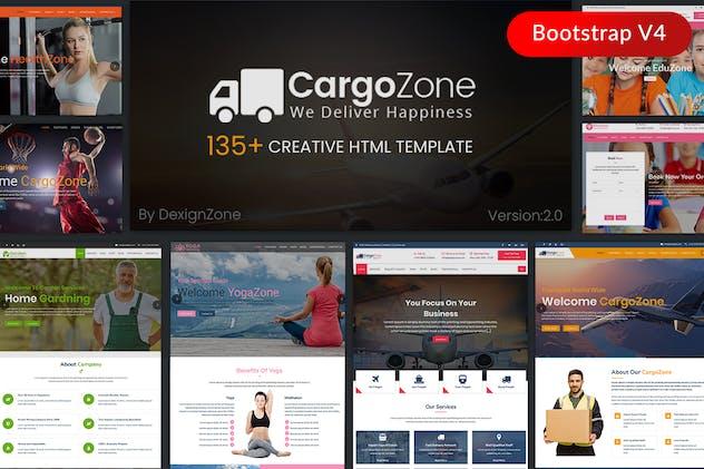 CargoZone - Transport, Cargo, Logistics & Business