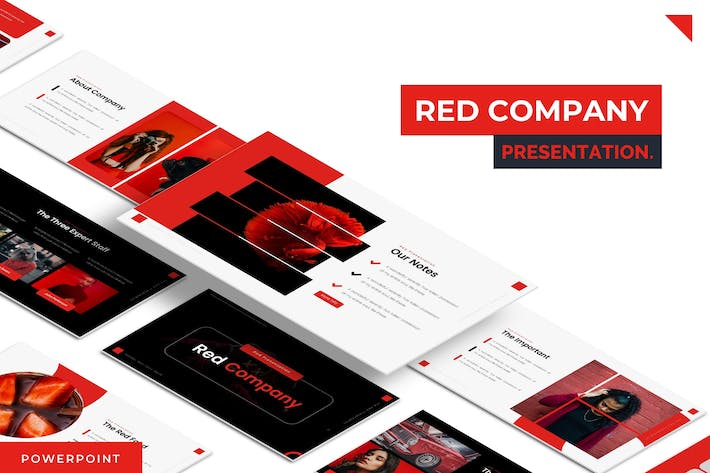 Red Company - Powerpoint Template