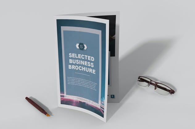 Selected - Business Brochure 12 pages - product preview 0