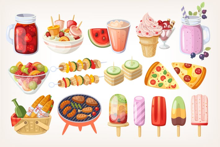 Thumbnail for Summer Food and Desserts