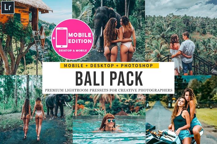 Thumbnail for Bali Lightroom Presets Mobile & Desktop