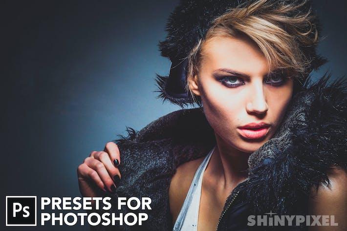90 базовых настроек - Пресеты Photoshop