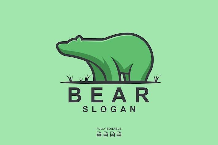 Thumbnail for BEAR LOGO TEMPLATES