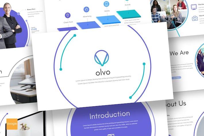 Thumbnail for Olvo - Google Slides Template