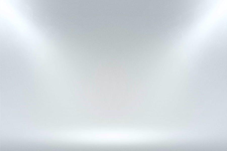 Infinite White Floor Spotlight Backgrounds