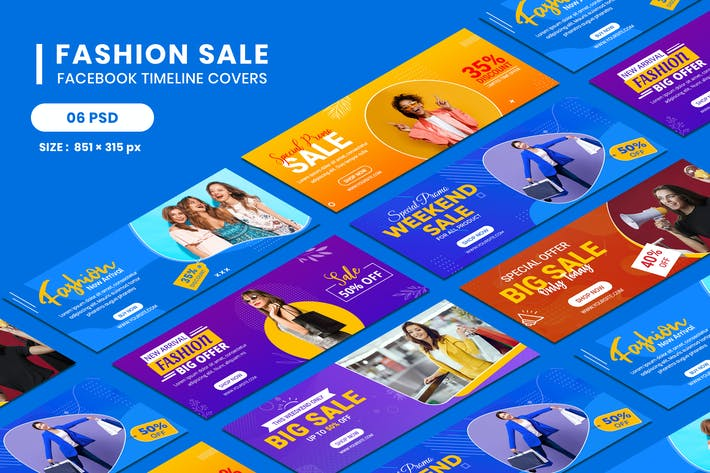 Thumbnail for Facebook Timeline Covers for Discount Fashion