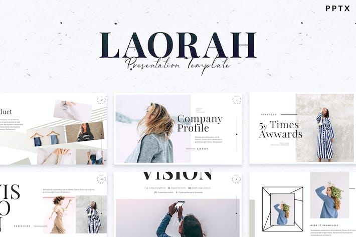 Thumbnail for Laorah - Powerpoint Template