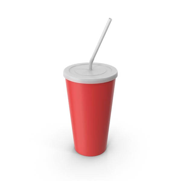 Drink Cup Red