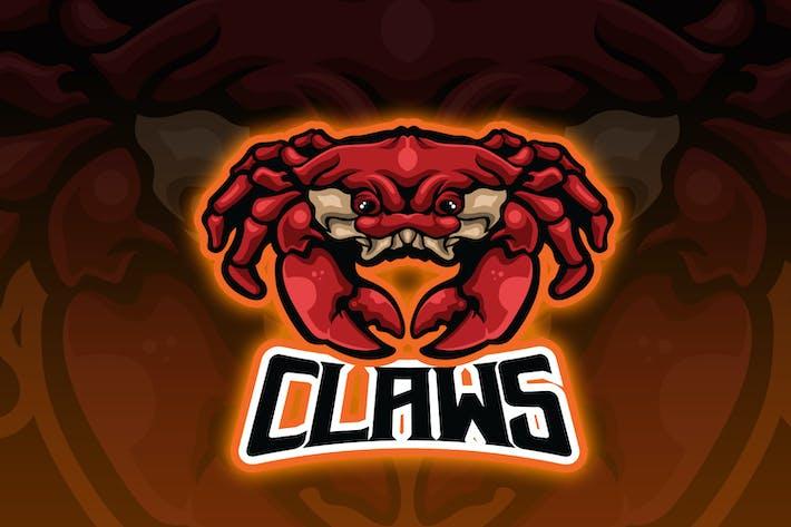 Thumbnail for Logo Esport Crabe Rouge
