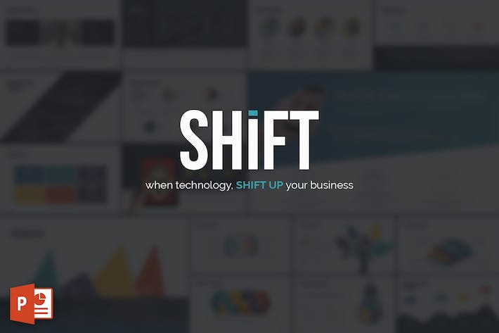 Cover Image For SHIFT Powerpoint Template