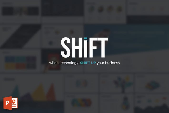 Shift powerpoint template by inspirasign on envato elements shift powerpoint template toneelgroepblik Image collections