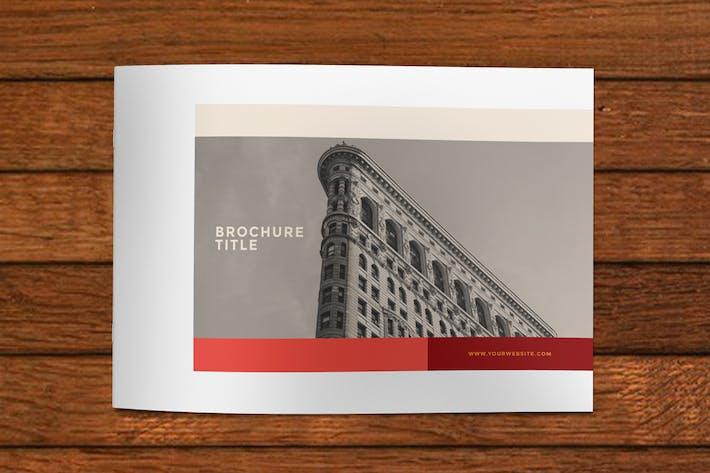 Thumbnail for Minimal Modern Red Brochure