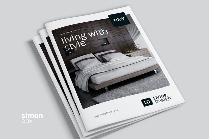 Thumbnail for Living Design – Product Catalog Template