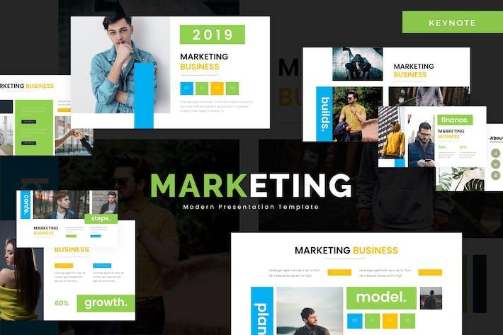 Thumbnail for Marketing - Keynote Template