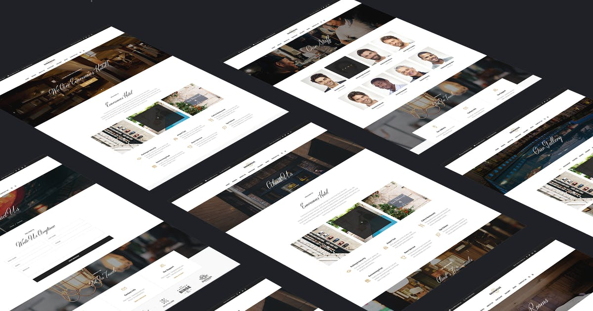Download Hotel & Resort PSD Template by 7oroof
