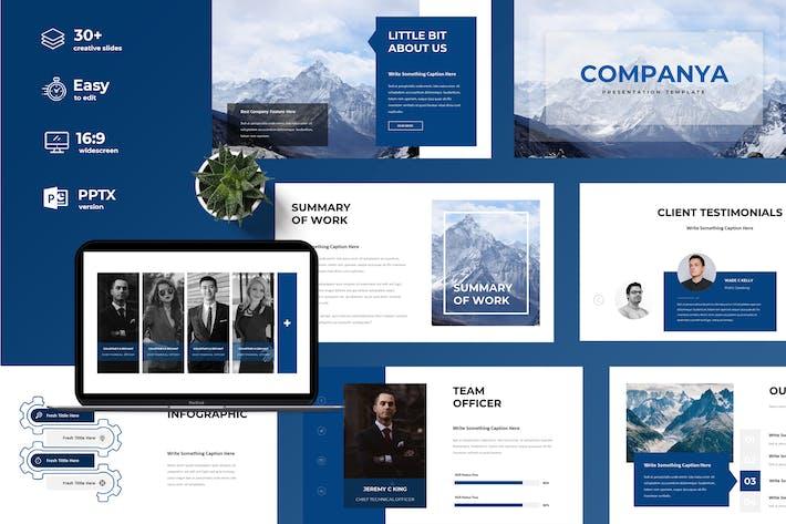 Thumbnail for Компания — презентация Powerpoint