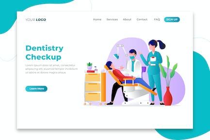 Dentistry Checkup - Landing Page